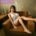 Rifrano 158cm life size real love silicone sex doll with skeleton for man oral realistic pussy full silicone dolls for sex