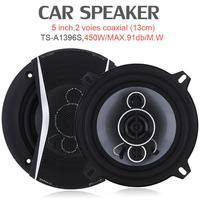 2pcs 5 Inch 450W Car Coaxial HiFi Speaker Vehicle Door Auto Audio Music Stereo Full Range Frequency Car Speakers Loudspeaker