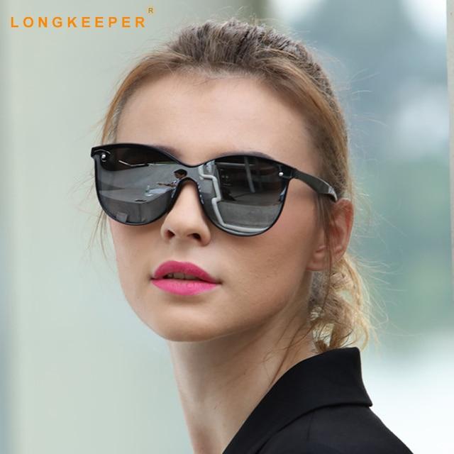 Terpolarisasi Kaca Mata Pria Wanita 2018 Kucing Mata Kacamata Hitam Malam  Vision Kacamata Matahari Kacamata Baru e7a4deca1f