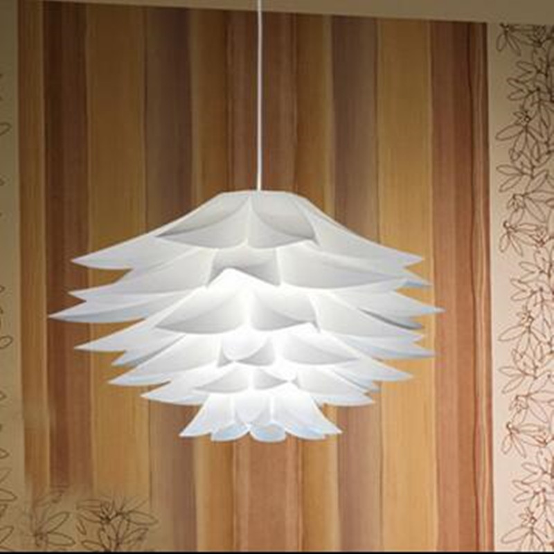 Lily flowers lamp pendant lights material of pvc diameter 4060 cm lily flowers lamp pendant lights material of pvc diameter 4060 cm lotus diy lamp shape bedroomshops led light fixture in pendant lights from lights aloadofball Images