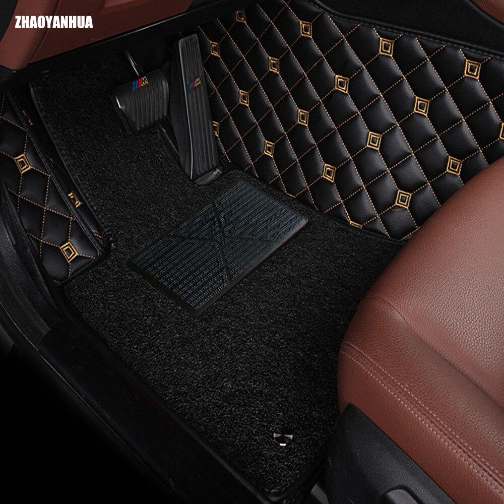 Zhaoyanhua car floor mats all models for ford focus escort titanium mondeo fiesta s max raptor floor mat carpet
