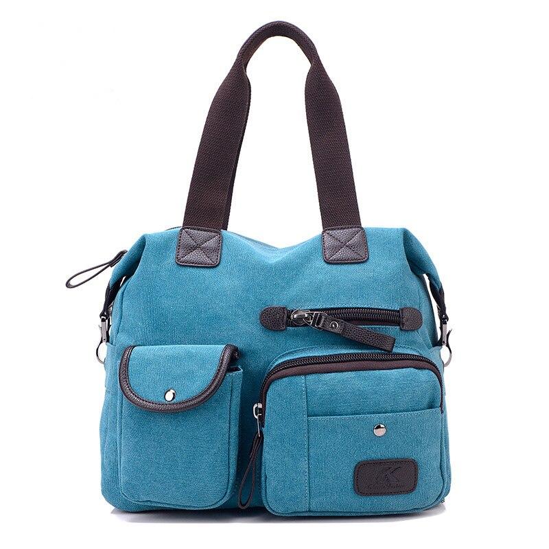 2017 New Style Women Bag Canvas Handbags Messenger Bags Female Casual Shoulder Bags Designer Handbags Bolsa Feminina CH014