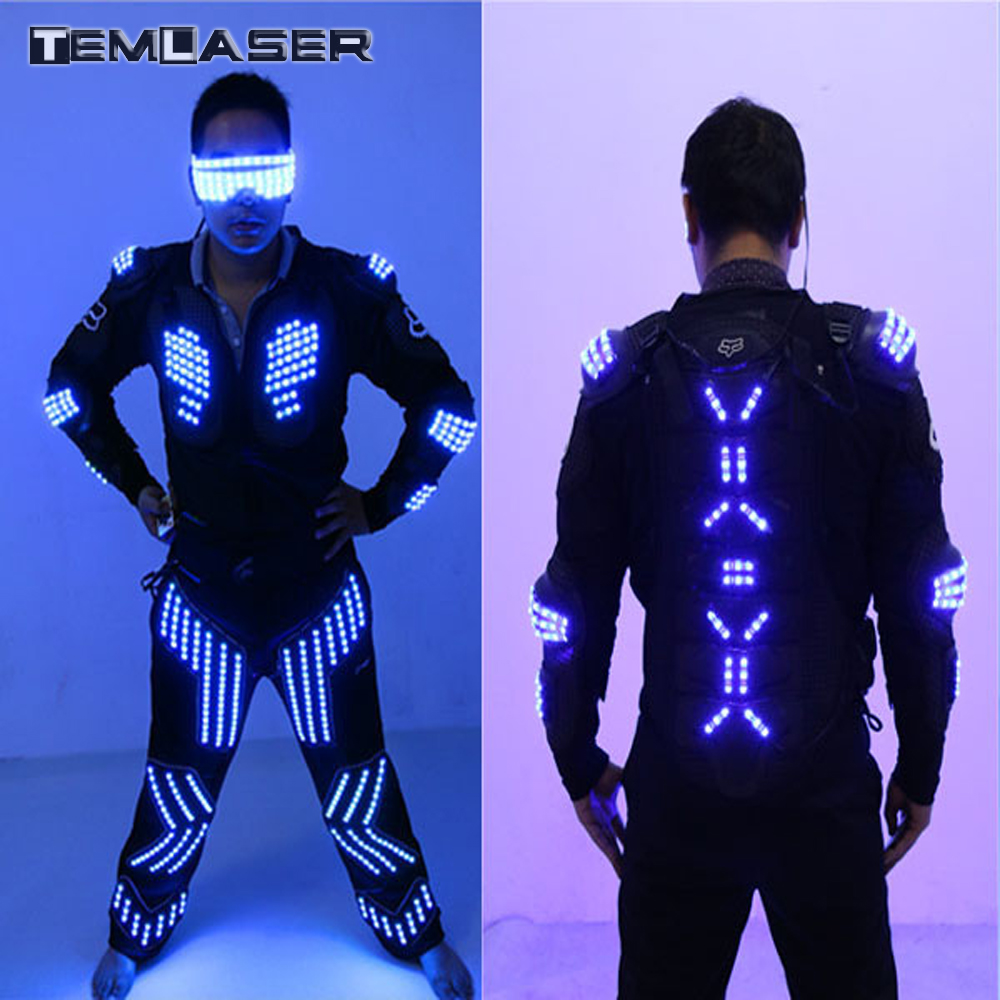 NºNueva llegada led color LED armadura/trajes LED robot traje/LED ...