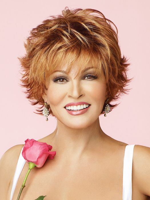 Short Wave Gorgeous Raquel Welch Hairstyle Wig With High ...