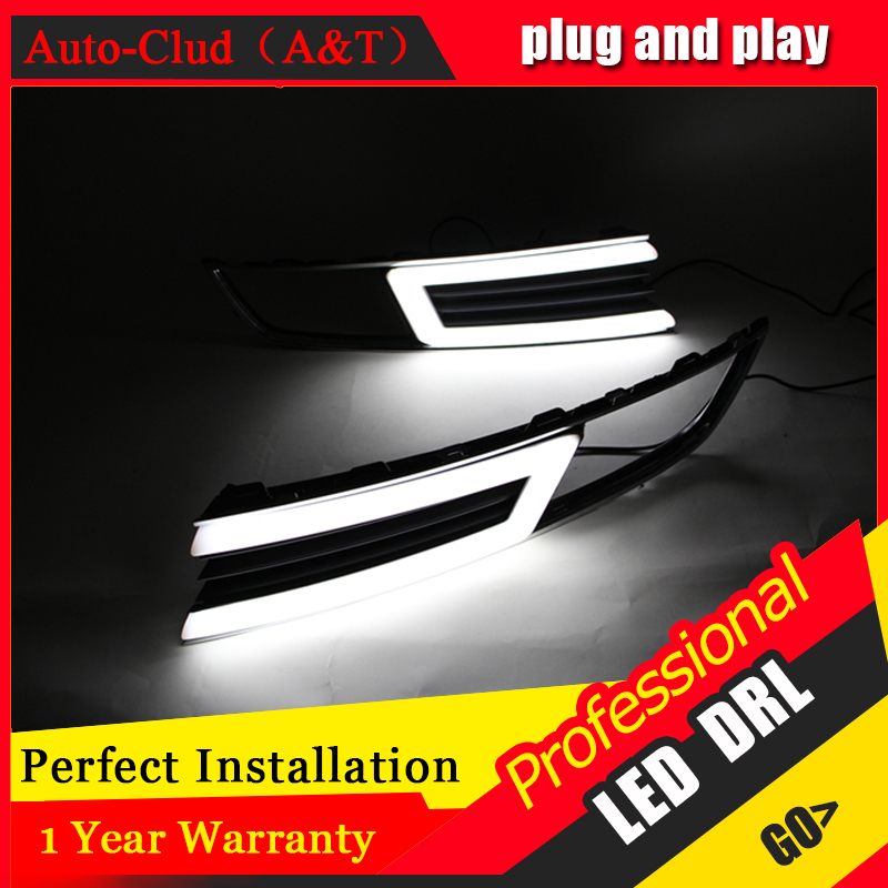 Auto Clud car styling For VW Lavida LED DRL For Lavida led fog lamps daytime running light High brightness guide LED DRL dongzhen fit for 92 98 vw golf jetta mk3 drl daytime running light 8000k auto led car lamp fog light bumper grille car styling