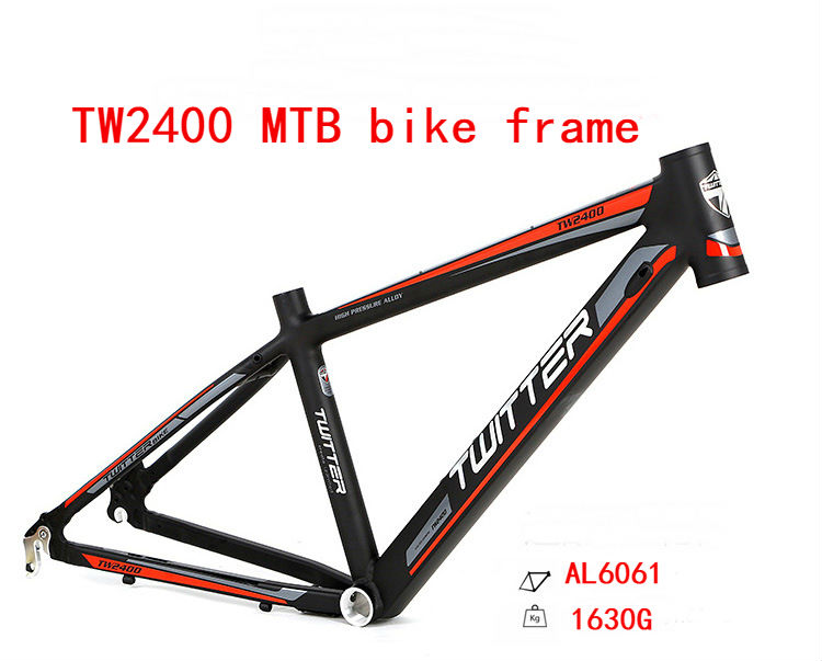 2019 New 24*13.5inch 1630g Aluminum Alloy Mountain Bike Frame Bicycle Frame MTB 24inch Ultra-lightweight Frame Disc Bike Frame