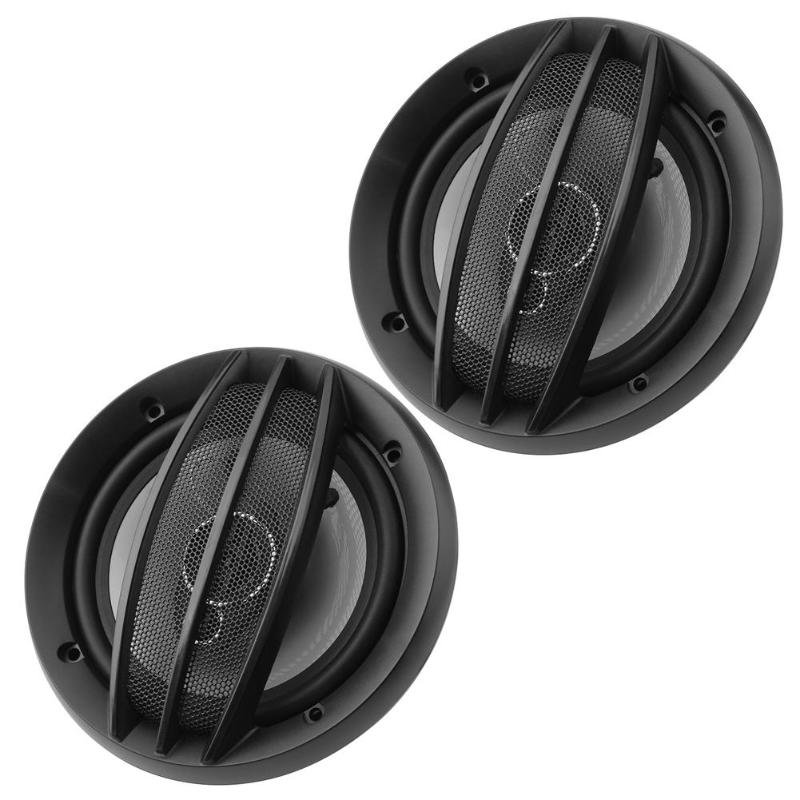 VODOOL 1 Pair 6 inch 380W Car Accessories Stereo Coaxial Treble Loudspeakers Auto Audio Music Sound System Car Audio Speakers