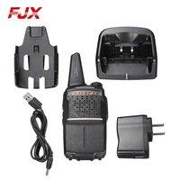 FJX FZ 380 5km Professional Handheld Walkie Talkie Intercom Rechargeable Li ion Battery Two Way Radio Communicator Transceiver