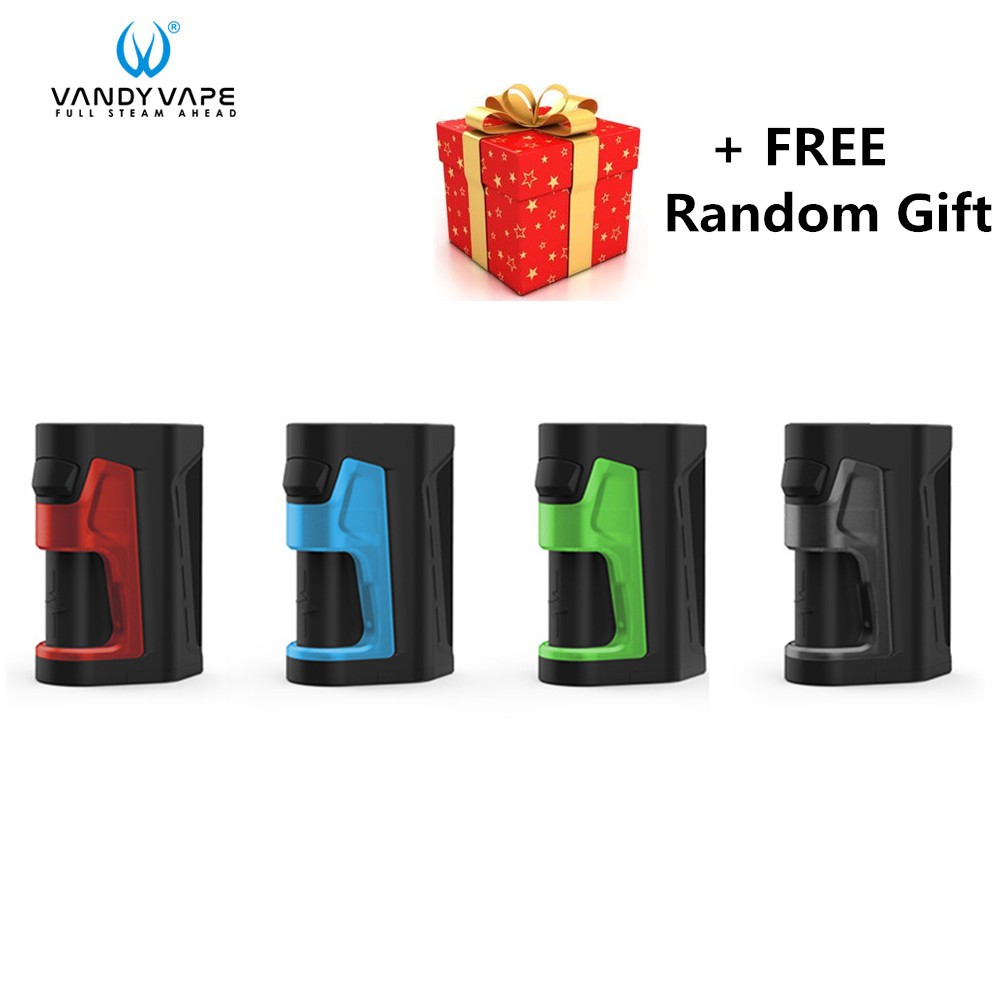 Original Vandy vape impulsion double Mod fit Vandyvape impulsion V2 RDA réservoir le plus petit double Squonk Mod sans 18650 batterie Vape boîte Mod