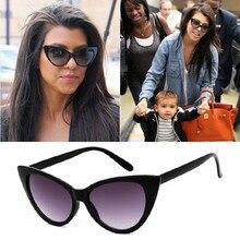Fashion Cute Sexy Retro Cat Eye Sunglasses Women Brand Designer Vintage Sunglass Female Oculos De Sol UV400 Sun Glasses KD24077