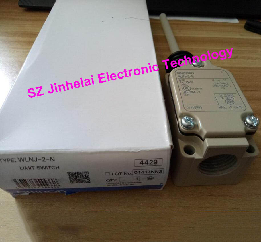 все цены на WLNJ-2-N new and original OMRON Travel switch Limit switch онлайн