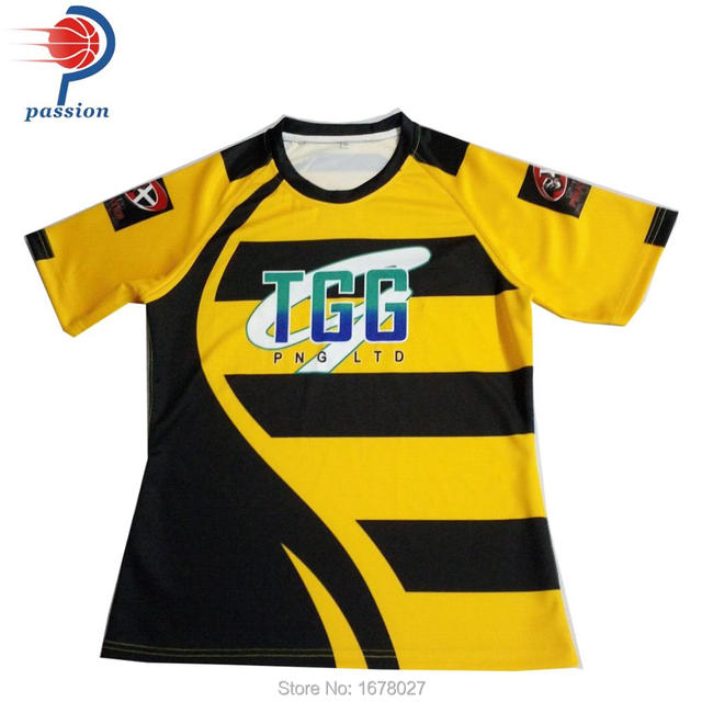 37eac41695e Two Colors Men's Sublimation Rugby Jersey with Cool Design -in Rugby ...
