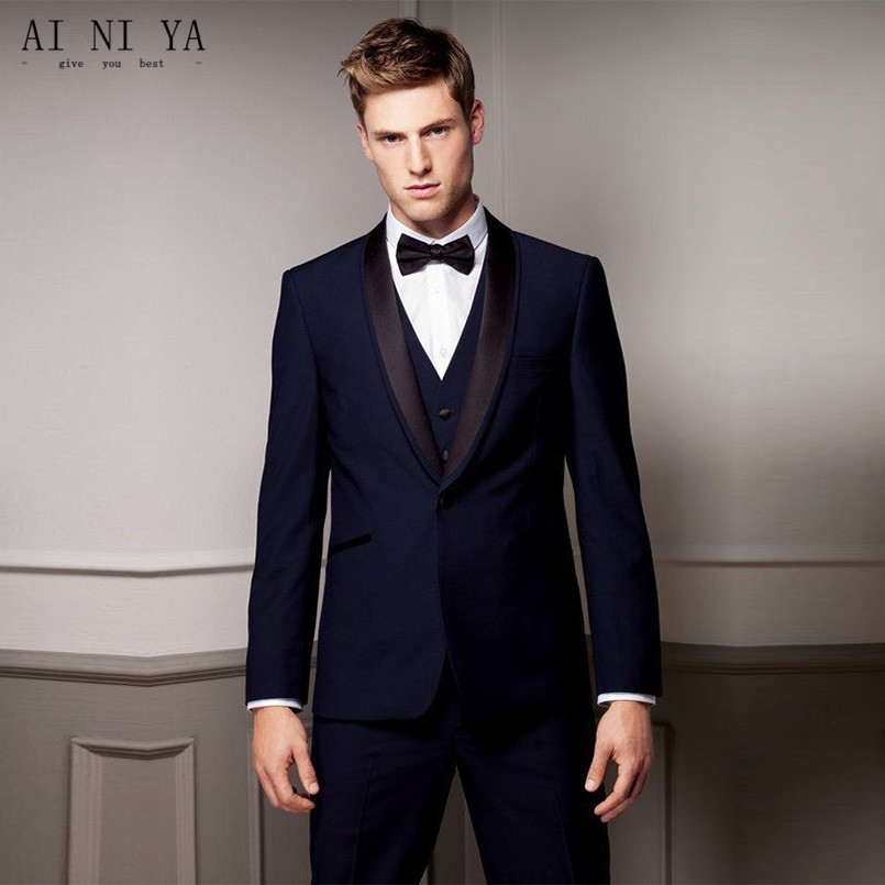 Fashionable <font><b>men's</b></font> <font><b>suit</b></font> custom <font><b>men's</b></font> groom gap lapel groom dress gown man wedding <font><b>suit</b></font> <font><b>suit</b></font> (shirt + <font><b>shorts</b></font> + vest) image