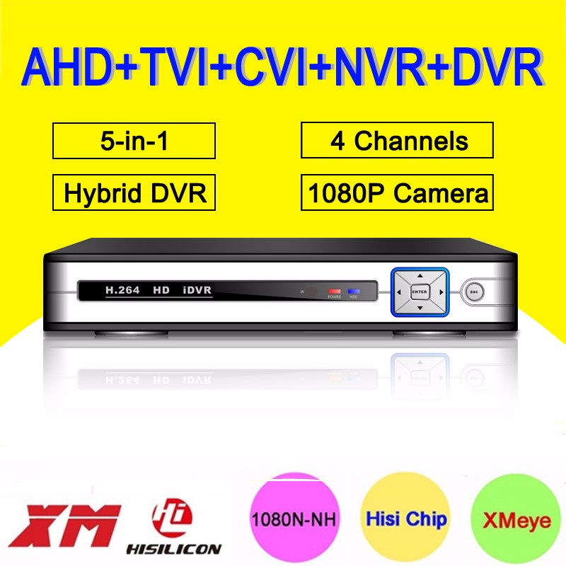 sliver White Metal Case 5 in 1 hybrid ahd tvi nvr dvr picture 01