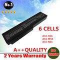 Ventas al por mayor nuevos 6 celdas de la batería del ordenador portátil para Asus M50 G50 L50 M50V M50Q G50VT Series reemplazar A32-M50 A33-M50 A32-X64 envío gratis