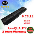 Wholesales New 6 Cells laptop battery For Asus M50 G50 L50 M50V M50Q G50VT Series Replace  A32-M50 A33-M50 A32-X64 FREE SHIPPING