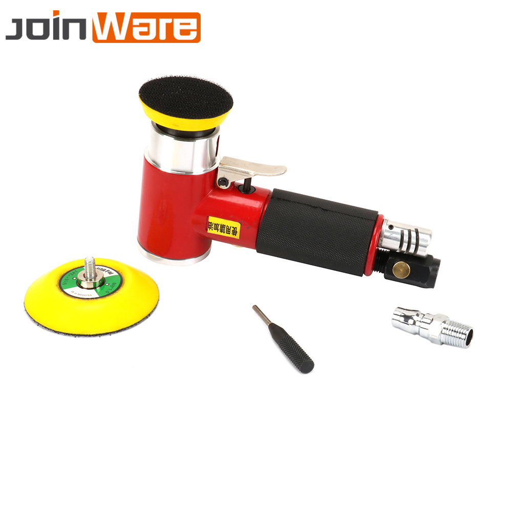 2 3 Mini Air Sander Kit Pad Eccentric Orbital Dual Action Pneumatic Polisher Polishing Buffing Tools For Auto Body Work New air random orbital palm sander pneumatic tools polisher buffing 6 150mm auto sander pneumatic orbital polisher schuurmachine
