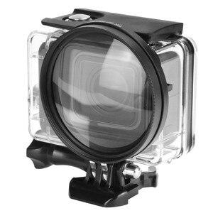 Image 5 - 58ミリメートル拡大鏡10x倍率マクロクローズアップレンズ移動プロヒーロー5ブラックエディションケース