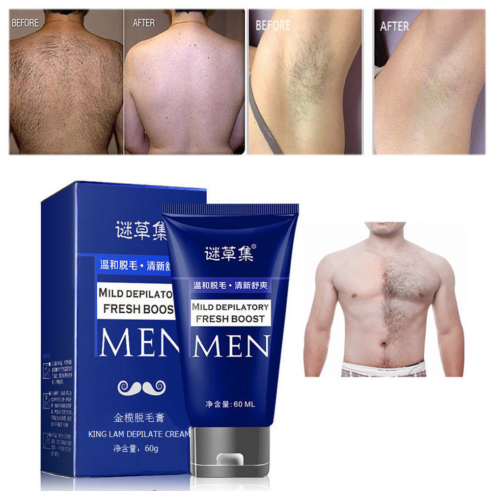 60g Organic Depilatory Cream Natural Plant Depil Hair Removing Cream for Women and Men Hair Removal Epilator Dropshipping YJJ2