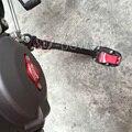 2015 nueva motocicleta CNC Side pata de cabra soporte placa de extensión Red para DUCATI Multistrada 1200 / S / DVT
