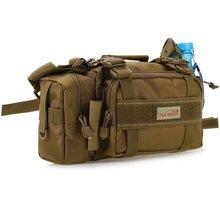 TSURINOYA Fishing Bag Multifunctional Outdoor Sport Fishing Reels Lure Waist Pack Pouch Pole Package Fishing Tackle Bag