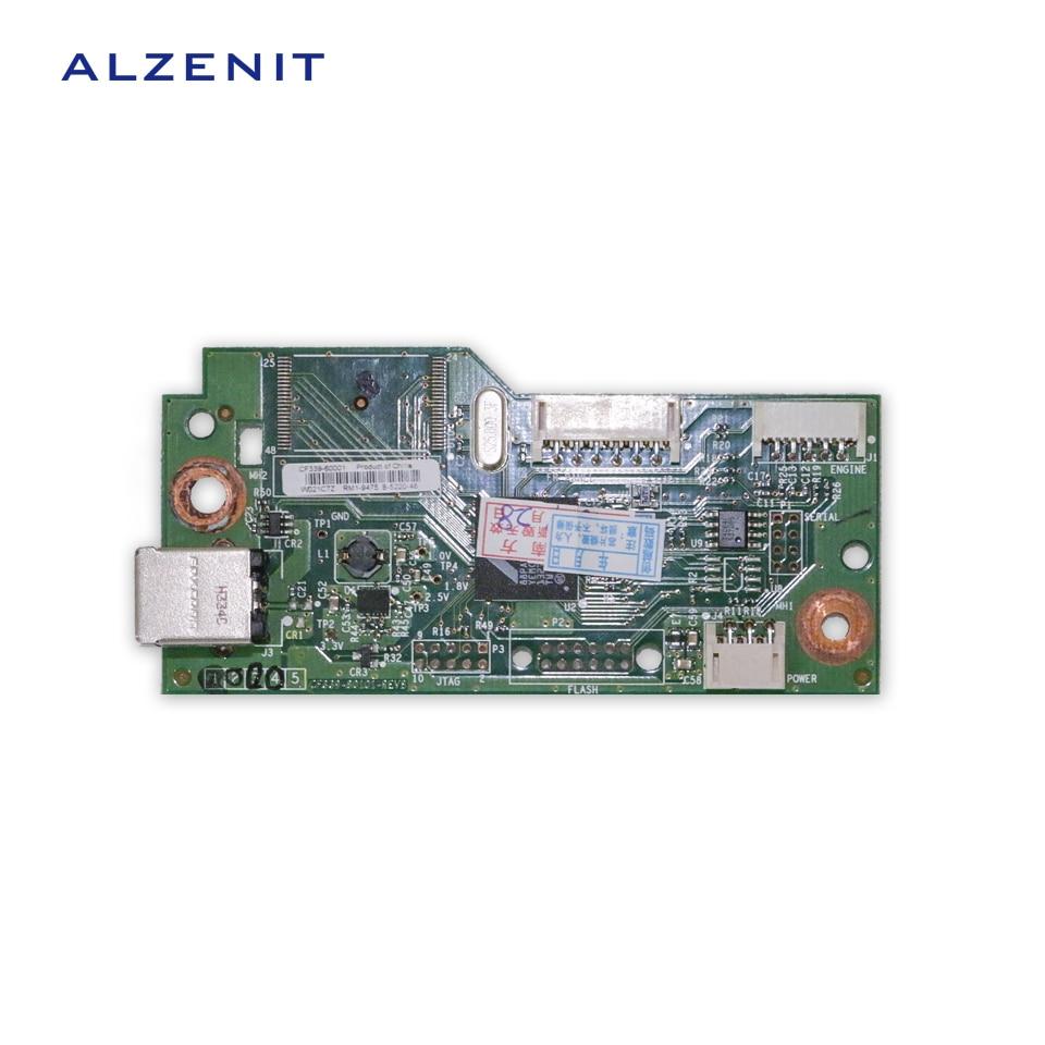 GZLSPART For HP CP1025 1025 Original Used Formatter Board CE828-60001 Laser Printer Parts On Sale gzlspart for hp 400 401 pro m401dn m400dn original used formatter board cf150 60001 laserjet printer parts on sale