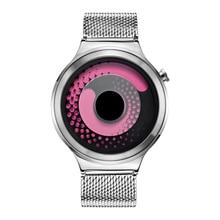 Conceito de moda Dial New Style Relógio De Quartzo relógio de Pulso