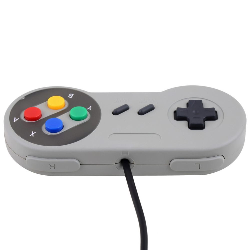 1pc Super for Nintendo SF for SNES PC Controller Gamepad Joypad USB for Windows for Mac Newest Home Gamer Gaming Controller