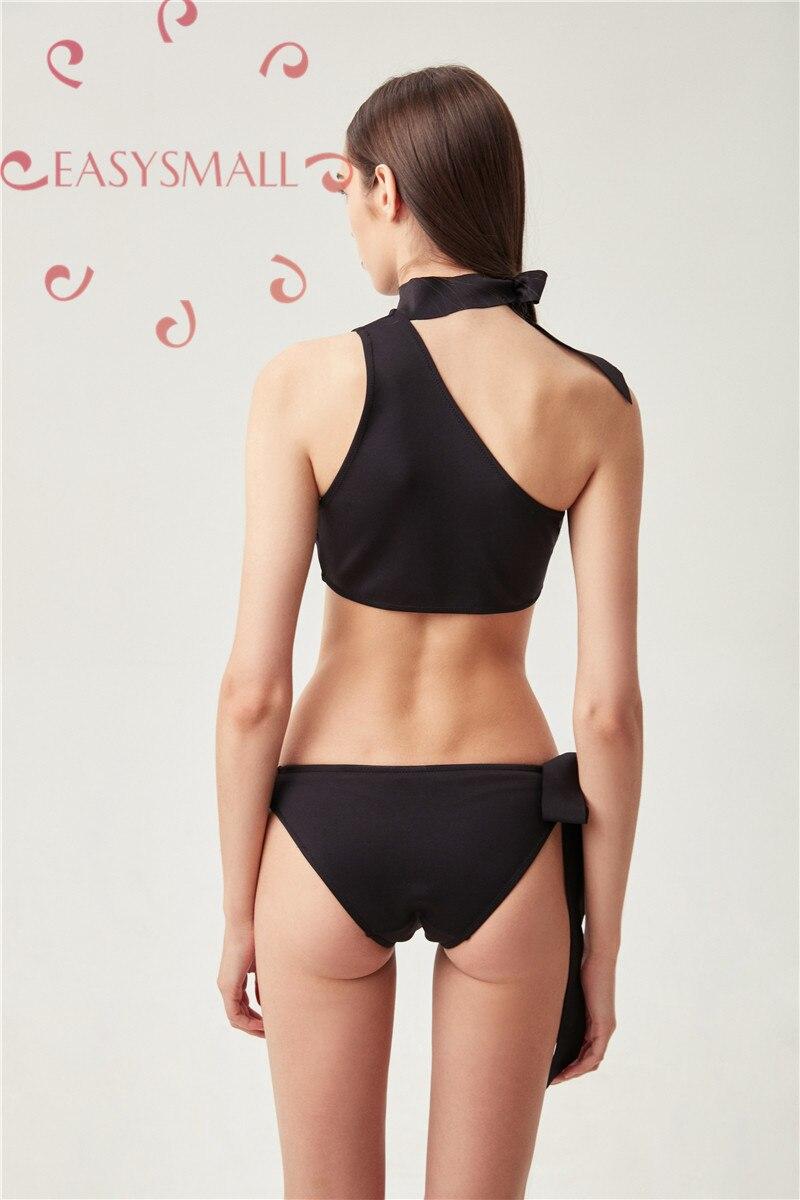 EASYSMALL sexy push up soutien-gorge lingerie bralett soutien gorge femme modis sous-vêtements grande taille femmes noir Bikini maillot de bain - 6