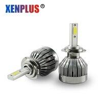 Xenplus H7 LED Car Headlights Kit H4 H13 H1 H11 5202 9007 9012 Light Bulbs Automobiles Headlamp C1 6000K White light 12V
