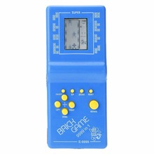 Classic Tetris Hand Held LCD Electronic Game Toys Fun Brick Game Riddle Handheld Game Console(China)