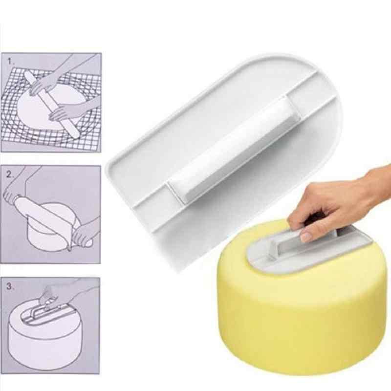 Шпатель для торта инструменты разглаживатель мастики поделки из сахара глазировка Экологичные силиконовые DIY украшения торта Плесень Кухня инструмент для выпечки