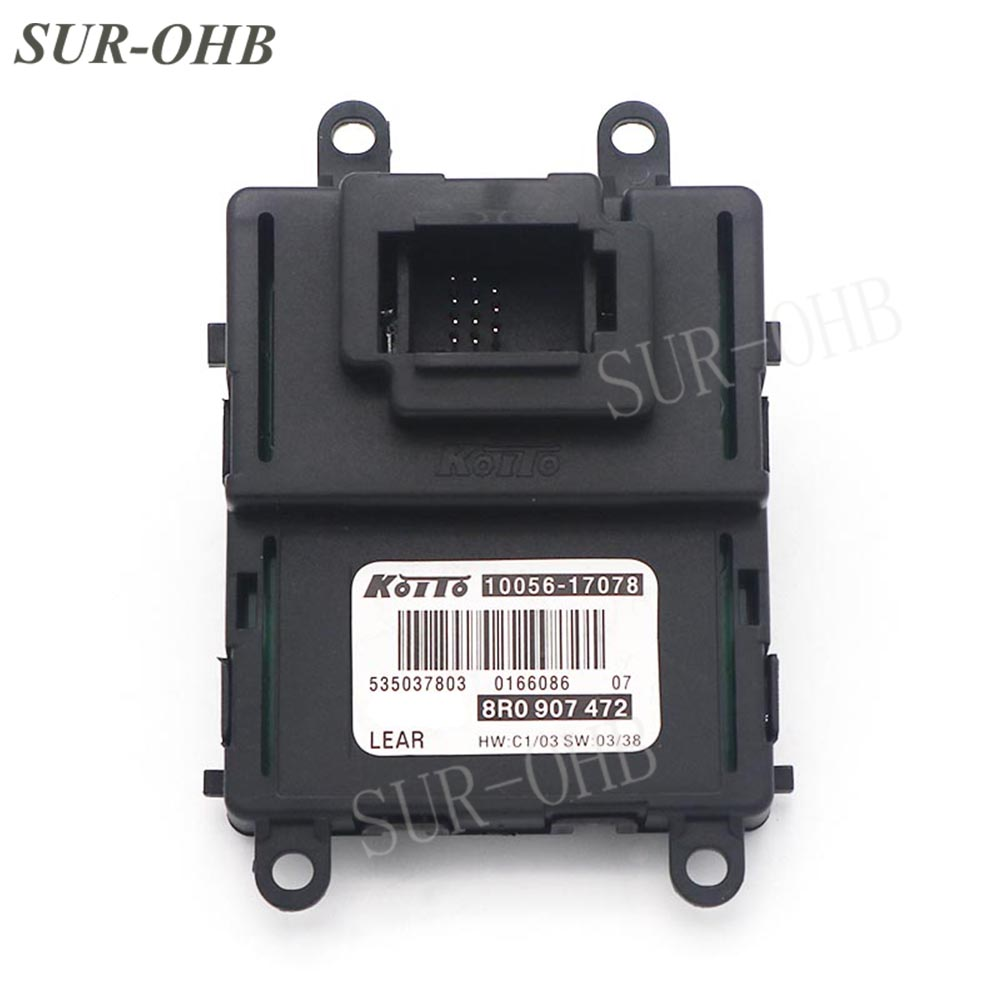 Part 8R0 907 472 LED Headlights DRL Xenon Ballast 10056 17078 Control Module for Audi Q5