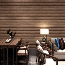 3D solid pvc wood texture wallpaper natural color warm comfortable living room sitting study maison decor
