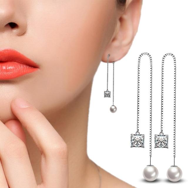 Fashion Top Quality Simple Pearl Design 925 silver Drop Earrings For Women Austrian Crystal CZ Wedding.jpg 640x640 - Fashion Top Quality Simple Pearl Design 925 silver Drop Earrings For Women Austrian Crystal CZ Wedding Jewelry