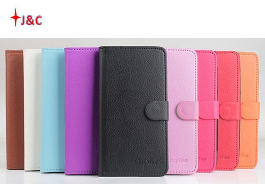 9 colors Classic Leather case For ELEphone P8000 P 8000 Flip Cover case housing With Card Slot For ELE P8000 Phone cover Cases
