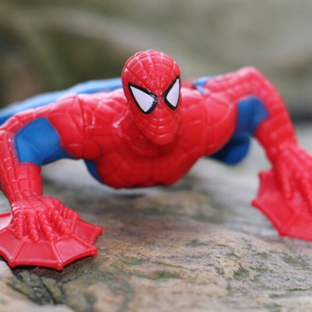 Children's toys model doll  Spiderman 1PCS 9cm