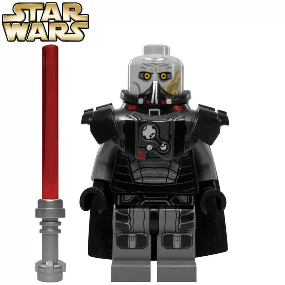 SingleSale STAR WAR Rogue Un Darth Malgus con LightSaber XINH Death Star minifig Assemblare Building Blocks Bambini Giocattoli del Regalo