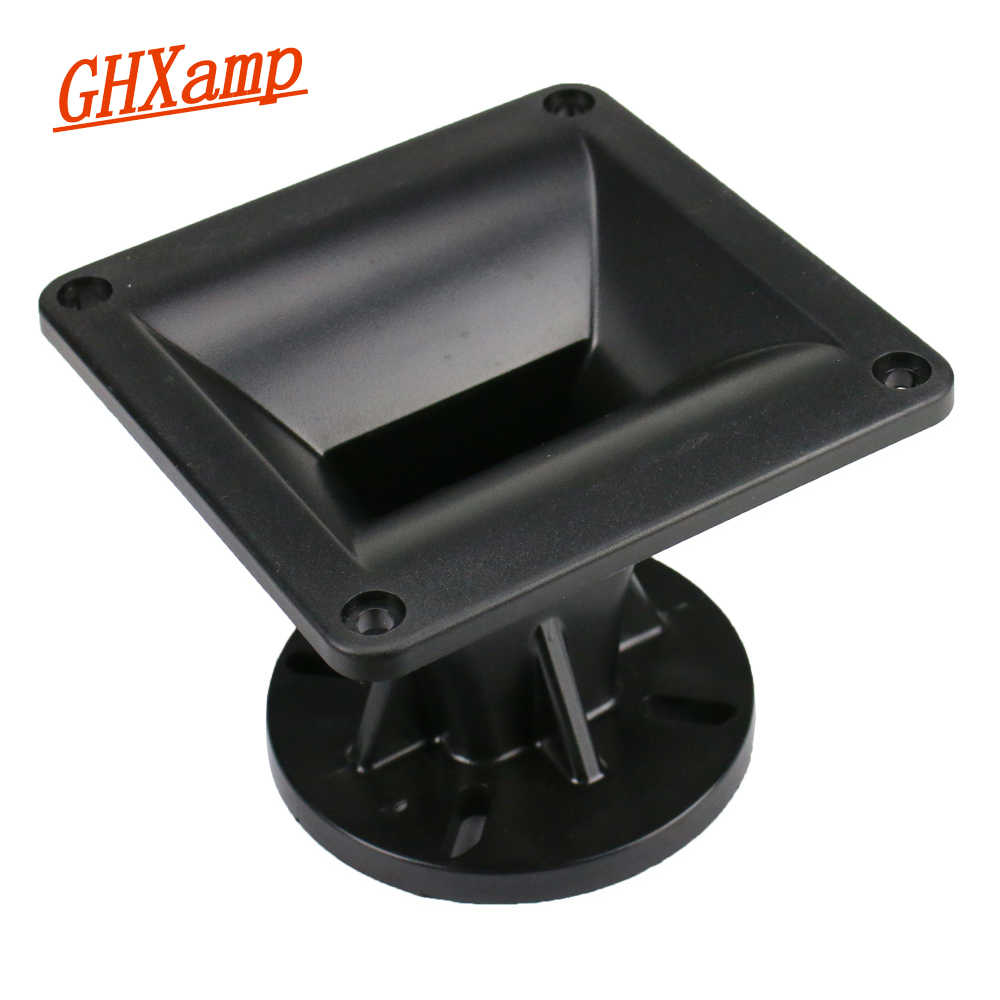 Ghxamp 120*120 Mm Tweeter Datar Horn Speaker ABS Plastik Asli Panggung Profesional Speaker Aksesoris 1 Pc
