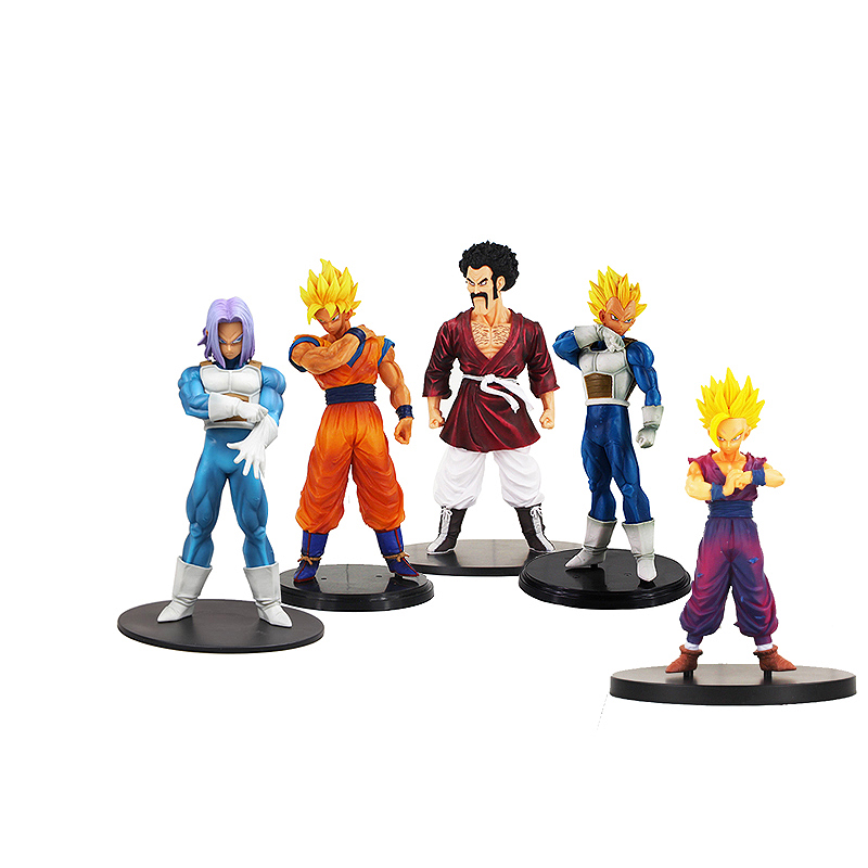 18cm Anime Dragon Ball Z Super Saiyan Gohan Action Figure Stars Goku Trunks Vegeta hercule Dragonball Figurine Collectible Toy dragon ball z black vegeta trunks pvc action figure collectible model toy super big size 44cm 40cm