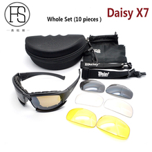 Daisy X7 Cycling Polarized Sunglasses Men Tactical Military Outdoor Sport Goggles Camping Hiking Glasses UV400 Protection