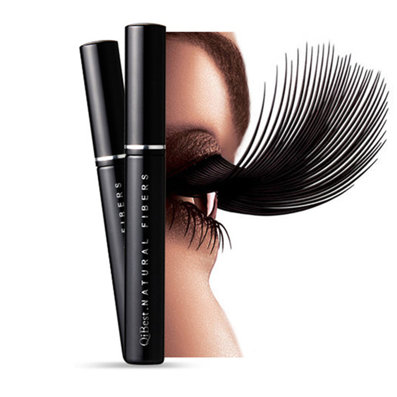 Black Gel Fiber Extended fiber Lashes Special Effects extended Eyelash Collocate With Mascara Lengthening Thick Eye Lash Fiber