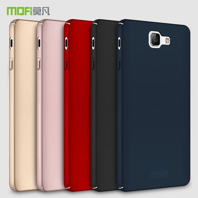 on sale cb481 f4c0f US $5.39 10% OFF|Original MOFi Brand for Samsung Galaxy J7 Prime 2 2018  case silicone scrub cover hard PC Back cover For Galaxy J7 Prime 2 cases-in  ...