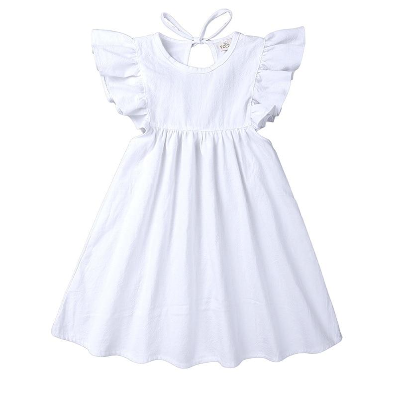 Yhcq Summer Baby Girls Dresses 2019 Toddler Kids Girl Dress Princess Cute Sweet White Dress for Baby Girl in Dresses from Mother Kids