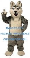 Лидер продаж Собака Хаски Маскоты костюм для взрослых Размеры персонажа из мультфильма Маскоты A Маскоты te костюм нарядное платье партии ка