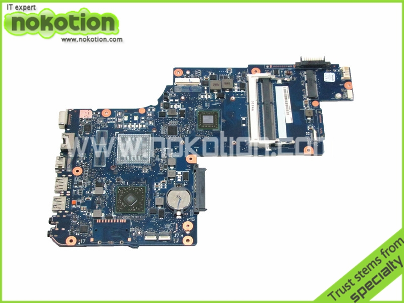 NOKOTION Laptop motherboard For Toshiba Satellite C870D L870D E2-1800 CPU Onboard DDR3 PN H000043610 h000079530 main board for toshiba ca10an ab laptop motherboard ca10an ab uma mb rev 2 1 ddr3 with cpu onboard
