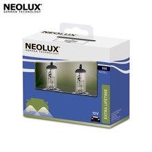 Галогеновая лампа головного света Neolux N472LL-2SCB H4 цвет стандартный желтоватый 12В 55Вт 4000K (2 шт)