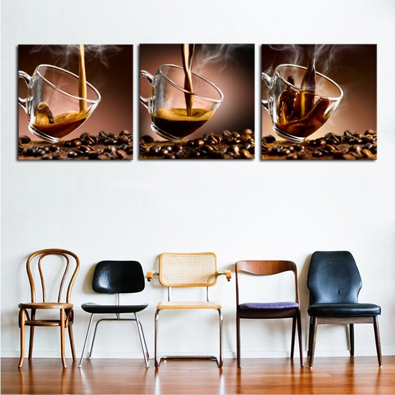 2017 sale modern 3 panels unframed canvas photo prints for Home decor sale