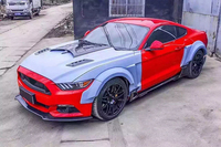 Body Kits Front Bumper Parts Rear Diffuser Car Accessories for Ford Mustang Coupe 2015 2017