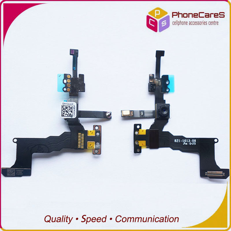 10pcs/lot wholesale, For iPhone 5S High Quality Front Camera With Flex Cable Replacement Parts ,Free Shipping image